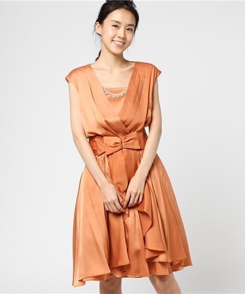 日本未入荷 【セール】パールネックレス Doll/&リボンベルト Luxe&パニエ付きサテンフリルワンピース(ドレス) Dorry Doll(ドリードール)のファッション通販, nanamode:383c9bd1 --- 888tattoo.eu.org