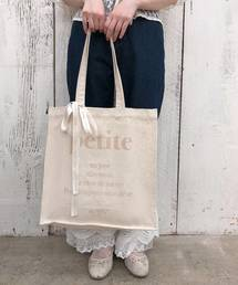 one after another NICE CLAUP(ワンアフターアナザーナイスクラップ)の【Petite】tote bag(トートバッグ)