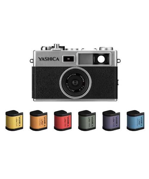 YASHICA digiFilm camera Y35 with digiFilm6本セット 【カメラ フィルムセット】