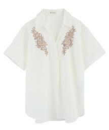刺繍入りシャツ(シャツ/ブラウス)