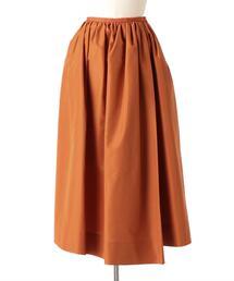 Drawer ポプリンギャザースカート