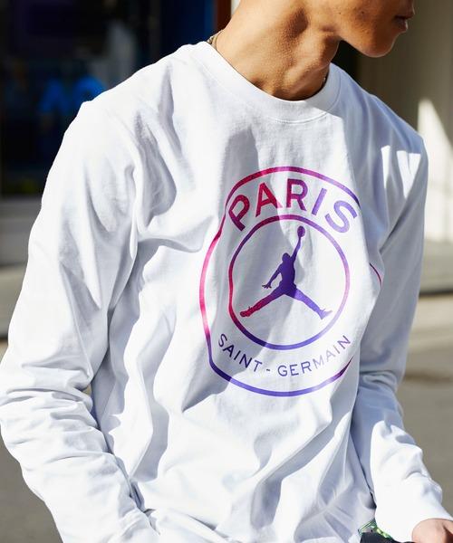 JORDAN BRAND MENS PSG LONG TEE / メンズ ロングスリーブ Tシャツ パリ サンジェルマン  / NIKE 【SP】