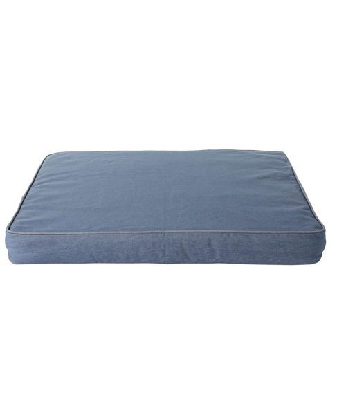 プレミアム·デニム·ドッグ·ベッド、長方形 ミディアム
