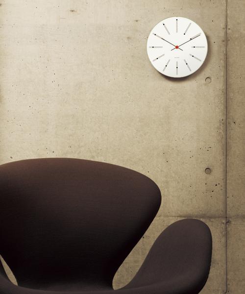 超熱 Arne/ Jacobsen ARNE 43620(Bankers/ アルネ・ヤコブセン   Clock 43620(Bankers 160mm)(掛け時計)|ARNE JACOBSEN(アルネヤコブセン)のファッション通販, BOTANIC GARDEN:a040371e --- iodseguros.com.br