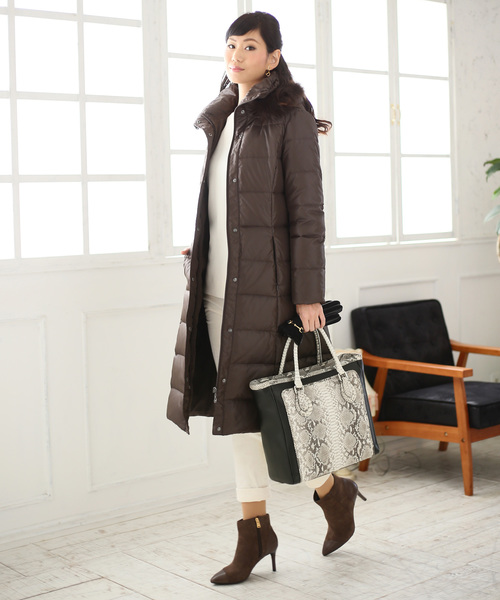 特別セーフ ダイヤモンドパイソン&牛革レザートートバッグ(トートバッグ)|HALEINE(アレンヌ)のファッション通販, 坂戸市:7f04d3e5 --- pyme.pe