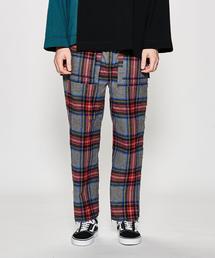 <JieDa> SIDE SLIT NEL PANTS/パンツ