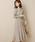 natural couture(ナチュラルクチュール)の「配色ニットプリーツワンピース(ワンピース)」 ミント