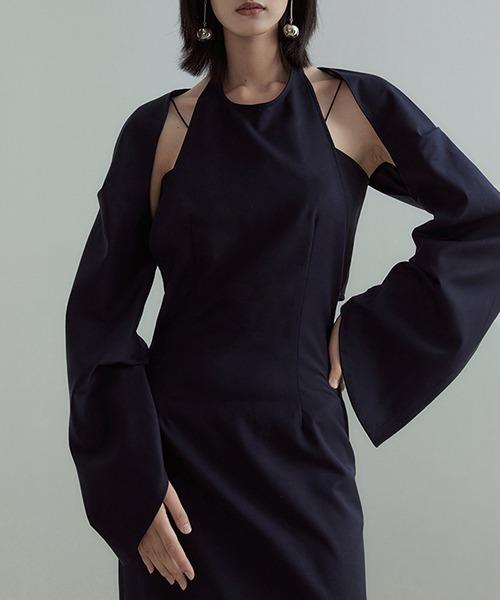 【UNSPOKEN】Short bolero jacket C21W028