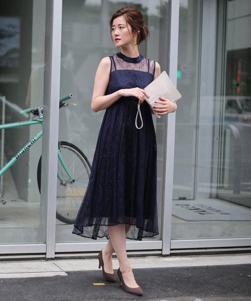 大割引 RIVEシアーレースドレス(ワンピース)|RIVE DROITE(リヴドロワ)のファッション通販, アソマチ:1ca6a7c5 --- 5613dcaibao.eu.org