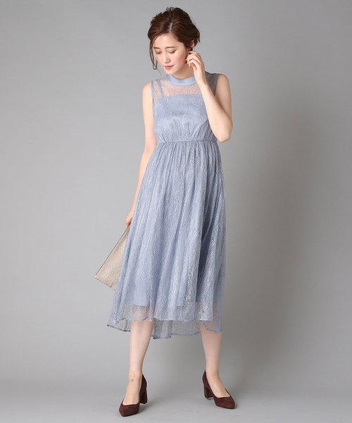 安い割引 RIVEシアーレースドレス(ワンピース)|RIVE DROITE(リヴドロワ)のファッション通販, eイヤホン:f88dce62 --- 5613dcaibao.eu.org