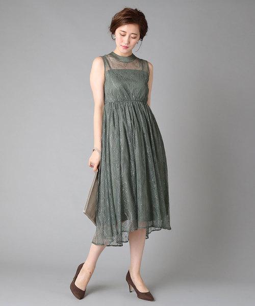 【メーカー公式ショップ】 RIVEシアーレースドレス(ワンピース)|RIVE DROITE(リヴドロワ)のファッション通販, 越前のホルモン屋:6314c9a6 --- 5613dcaibao.eu.org