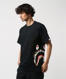 1ST CAMO SIDE SHARK TEE M(Tシャツ/カットソー)