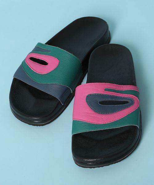 上品なスタイル メゾンエウレカ MAISON EUREKA / サンダル German Multicolor Sandal, イズミサノシ c3d7e6d0