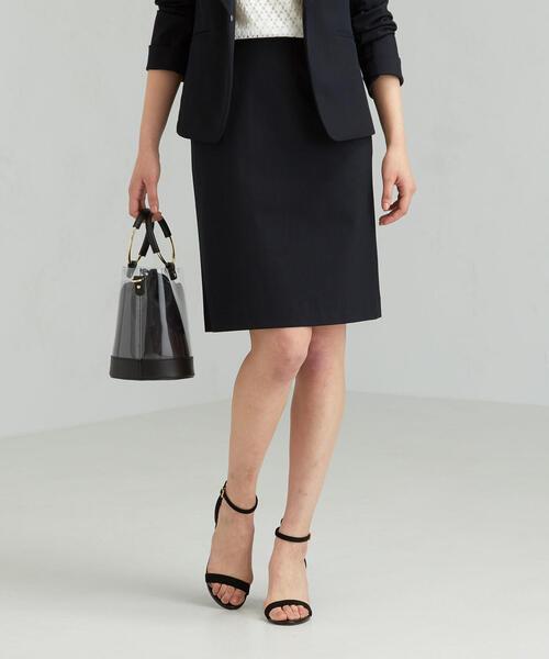[手洗い可能/ドビートリコット] ◆D Aライン スカート