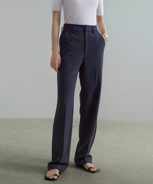 【UNSPOKEN】Simple straight slacks UD20K008