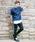 REPIDO(リピード)の「ラインテーパードスキニートラックパンツ ラインジャージ ジョーガ—パンツ(パンツ)」|詳細画像