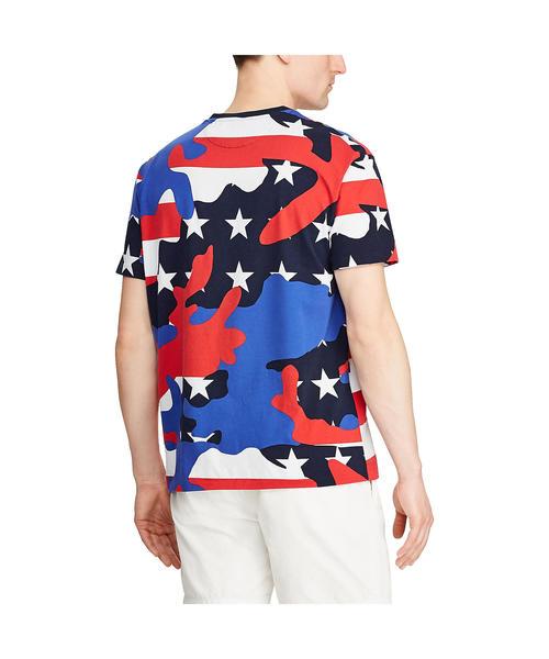 クラシック フィット カモ ジャージー Tシャツ