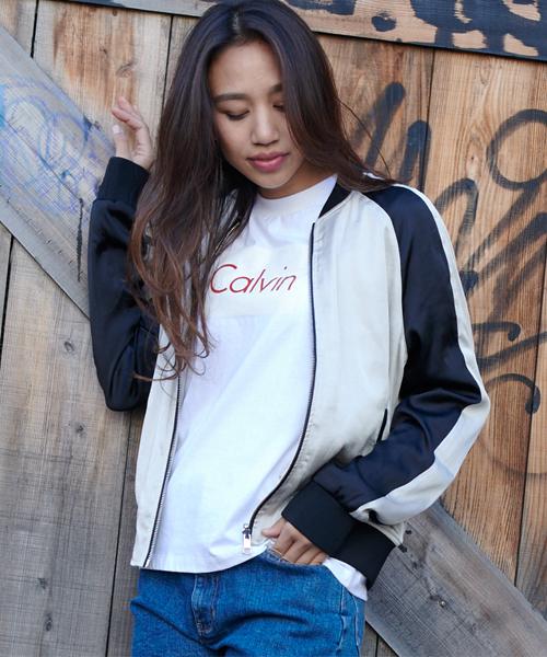激安先着 【セール KLEIN】リバーシブルボンバージャケット(ブルゾン)|Calvin Klein Jeans(カルヴァンクラインジーンズ)のファッション通販, dyna jewelry:501da32c --- tsuburaya.azurewebsites.net