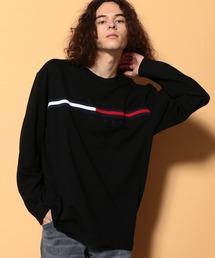 TOMMY HILFIGER(トミーヒルフィガー)のトミーヒルフィガー ロゴ ロング Tシャツ / TINO TEE L/S(Tシャツ/カットソー)