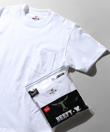 HANES(ヘインズ)の【HANES】ビーフィーポケットTシャツ(Tシャツ/カットソー)