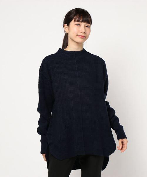 日本最級 ワッフルチュニックニット(ニット WOMEN,ランバン/セーター) en|LANVIN en オン Bleu(ランバンオンブルー)のファッション通販, ハピネスライフケア:fa3b0f75 --- ulasuga-guggen.de