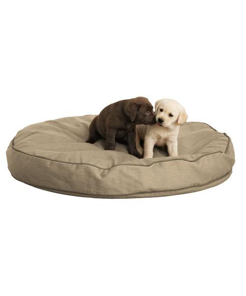 プレミアム·デニム·ドッグ·ベッド、円形 ラージ