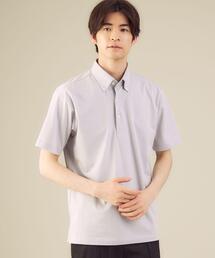 < 機能 / 吸水速乾 > CSD Quick-Drying コードレーン ボタンダウン ポロシャツ