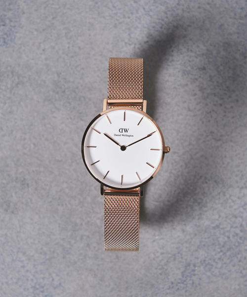 3a99186fca <Daniel Wellington(ダニエル ウェリントン)>PETITE WHITE 腕時計32mm†
