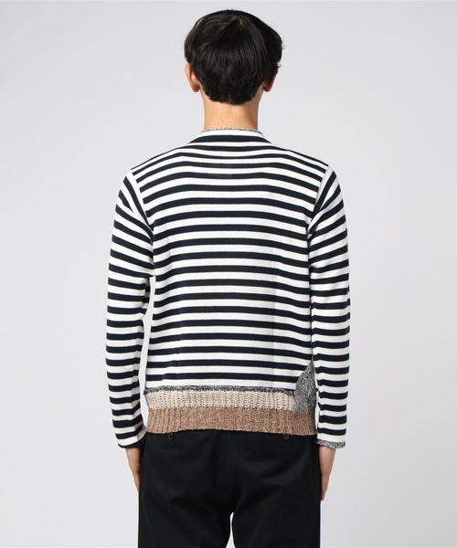 MAISON FLANEUR:ロングニットTシャツ