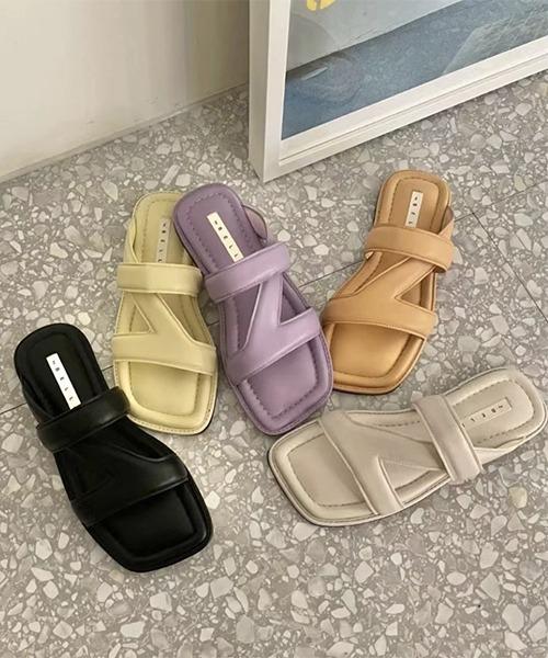 【chuclla】【2021/SS】Z-design mule sandal chs139