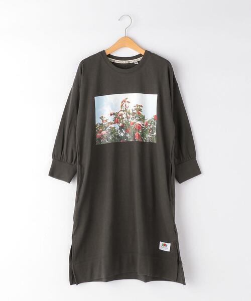 【別注】TJ EX <FRUIT OF THE LOOM×anna magazine×green label relaxing> 140cm-150cm