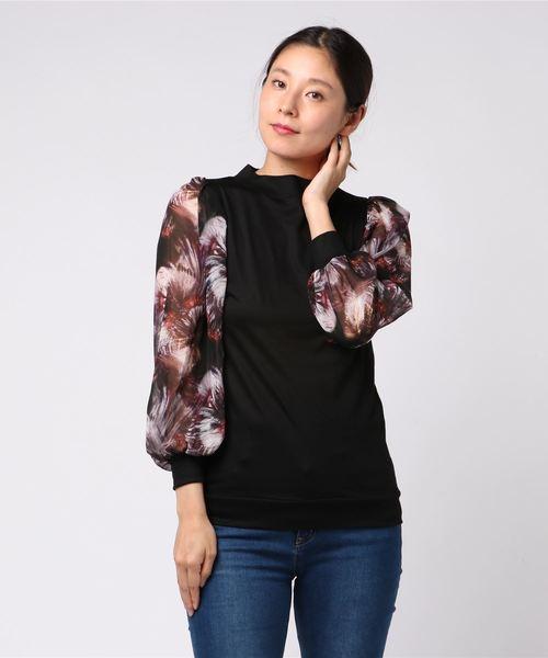 大人気新作 【セール】TORNADO MART∴フラワーシフォンパフスリーブプルオーバー(Tシャツ/カットソー)|TORNADO MART(トルネードマート)のファッション通販, used select shop Greed:a386ee89 --- incredible-filmfest.de