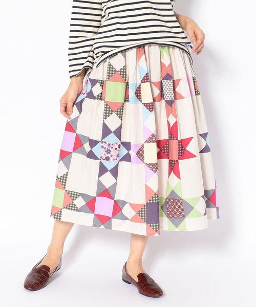 早割クーポン! BOHEMIANS BEE/ボヘミアンズ SH QUILTING BEE SH GATHER GATHER SKIRT キルティングビーギャザースカート(スカート)|BOHEMIANS(ボヘミアンズ)のファッション通販, ヒラカタシ:9d14aa9d --- blog.buypower.ng
