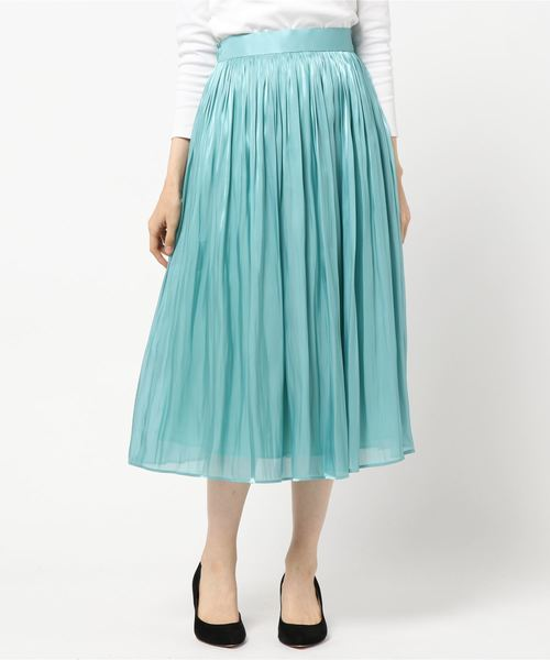 人気ブラドン RIVEリキッドギャザーSK(スカート)|RIVE DROITE(リヴドロワ)のファッション通販, ジャパンブリッジ:ca4be05e --- iodseguros.com.br
