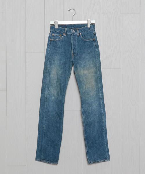 <USED>Levi's 501 BLUE 28INCH/パンツ.