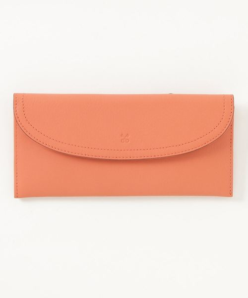 SAZABY(サザビー)の「HQG-03/長財布(財布)」|サーモンピンク