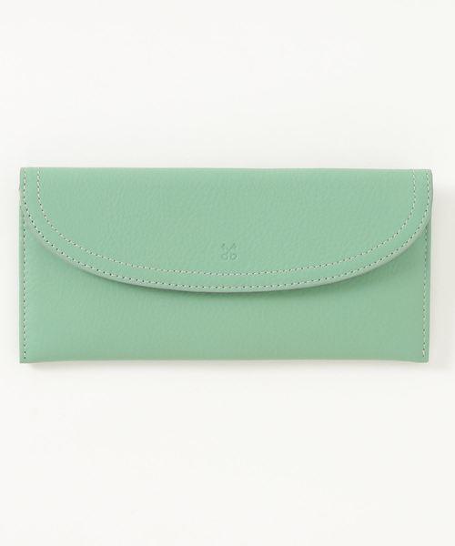 SAZABY(サザビー)の「HQG-03/長財布(財布)」|ライトグリーン