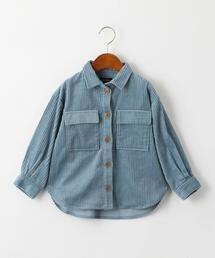 【キッズ】太コールCPOシャツ