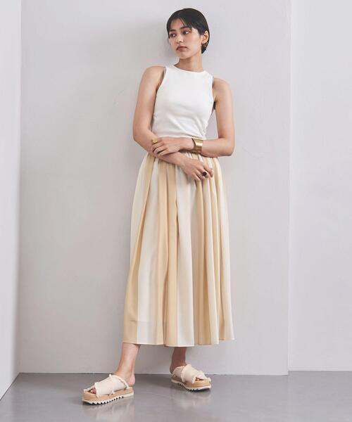 <AKIRA NAKA(アキラ ナカ)>MAGALI ギャザースカート ■■■