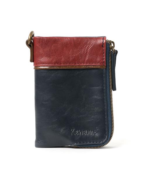 【Rename/リネーム】aid 二つ折り財布