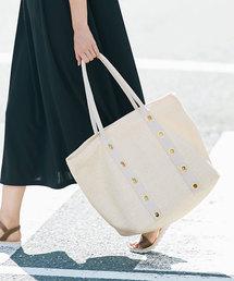KOBE LETTUCE(コウベレタス)のハトメビッグトートバッグ/鞄/レディース/カバン/カゴバッグ[B1151]神戸レタス(トートバッグ)