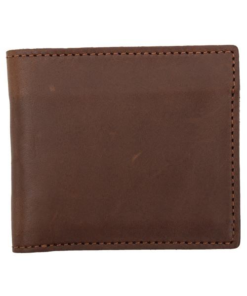 8(eight)(エイト)の「栃木レザー 二つ折り財布 短財布 本革レザー(財布)」 ブラウン