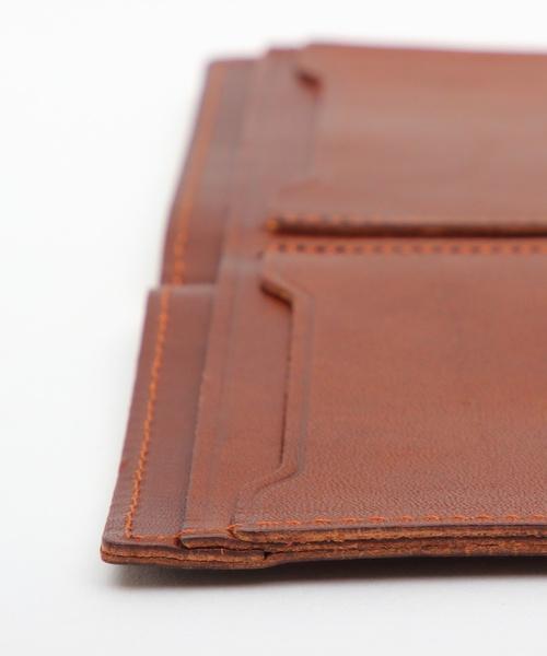 8(eight)(エイト)の「栃木レザー 二つ折り財布 短財布 本革レザー(財布)」 詳細画像