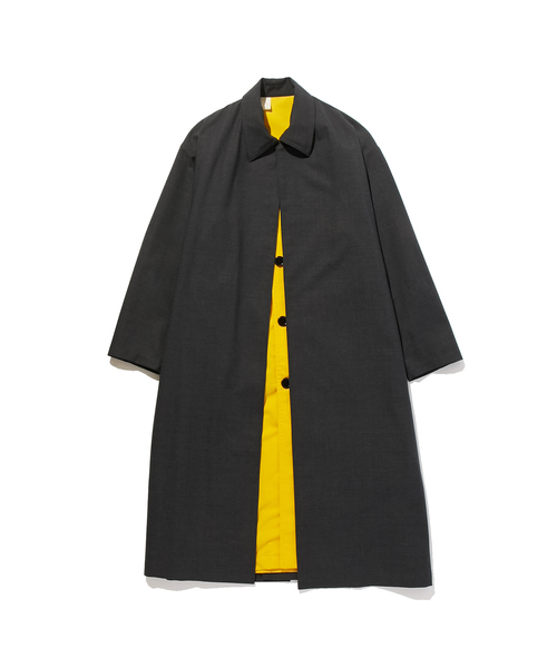 FALL2019 LAYERED LONG COAT