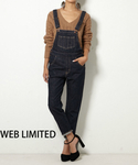 SLY | 【WEB限定】Campbell Tapered Salopette-A(サロペット・オーバーオール)