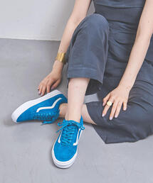 <VANS(ヴァンズ)>OLD SKOOL BLUE スニーカー WOMENS†