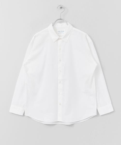 FORK&SPOON ブロードレギュラーカラーシャツ