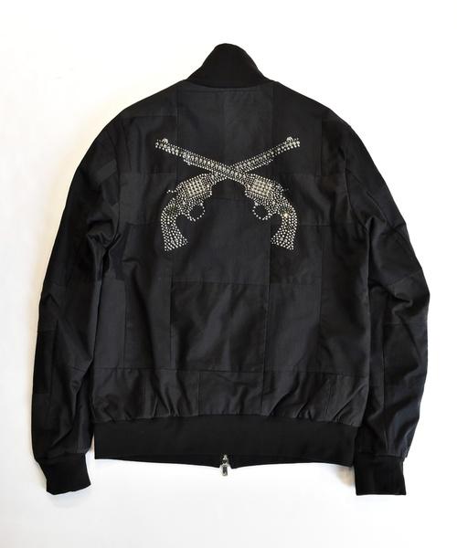 低価格 PATCHWORK JERSEY JERSEY SWAROVSKI(ブルゾン) roarguns(ロアーガンズ)のファッション通販, HOMES:1aaa69ef --- arguciaweb.com
