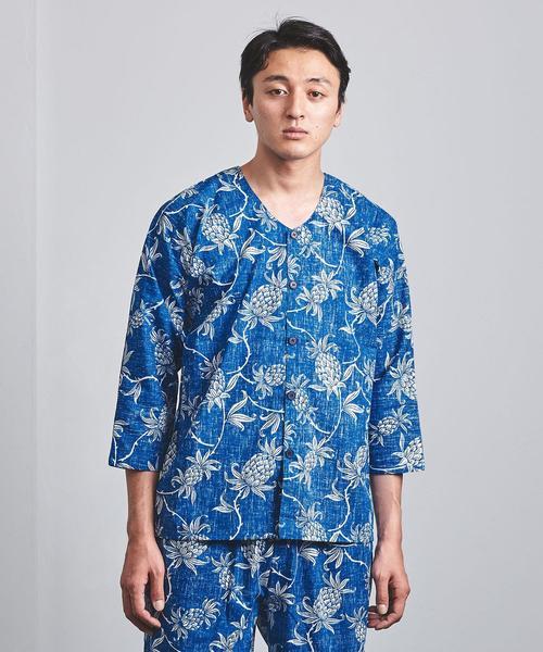 <reyn spooner(レインスプーナー鯉口シャツ ALOHA WELCOME
