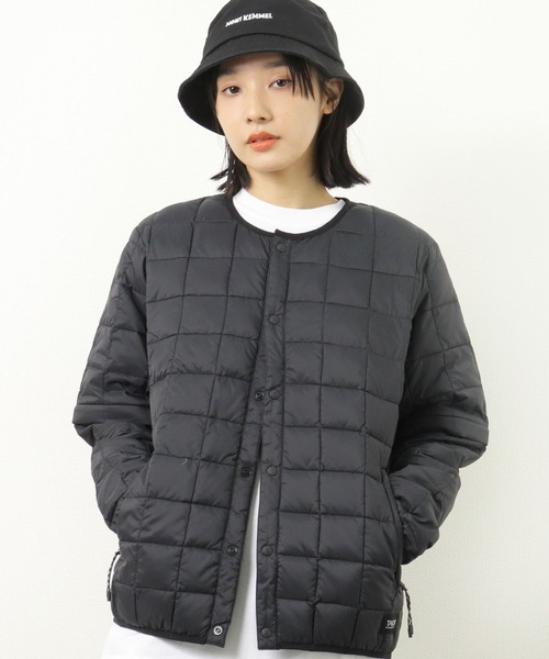 【 TAION / タイオン 】 ユニセックス チェンジスリーブ ジップダウンジャケット(TAION-DS104MT) DON